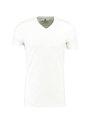 jc basic t-shirt organic cotton jc010004 wit