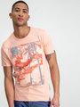 garcia t-shirt korte mouwen e91003 lichtroze