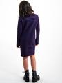 garcia gestreepte jurk i92485 blauw-rood