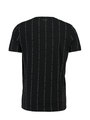 Chief T-shirt Korte Mouwen PC910606 Zwart Gestreept