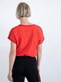 garcia t-shirt met glitterdetails n00205 rood