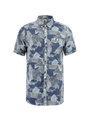 Garcia T-shirt Korte Mouwen D91232 Blauw