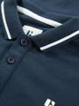 garcia polo met opdruk gs030104 blauw