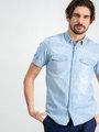 Garcia Overhemd Korte Mouwen D91238 Blauw