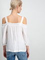 Garcia Shirt Lange Mouwen D90231 Wit