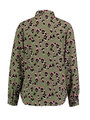 garcia blouse met allover print ge900901 groen