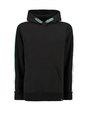 garcia hoodie h93664 zwart