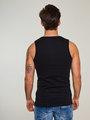jc basic onderhemd organic cotton jc010006 zwart