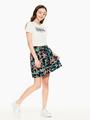 garcia t-shirt met tekstprint wit q02400
