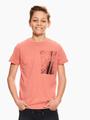 garcia t-shirt met print rood q03401