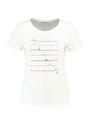 Tripper T-shirt Korte Mouw Basic TR900210 Wit Tripper