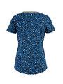 garcia t-shirt met allover print pg900502 blauw