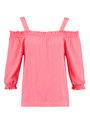 Garcia Shirt Lange Mouwen D90231 Rood