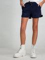 Garcia Short Sportief D92726 Blauw