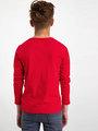 garcia long sleeve met opdruk h93602 rood